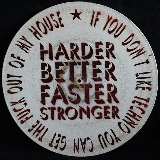 Vinylpropaganda - Harder better faster stronger
